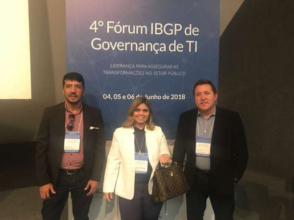 PGE-CE marca presença no 4º Fórum IBGP de Governança de TI