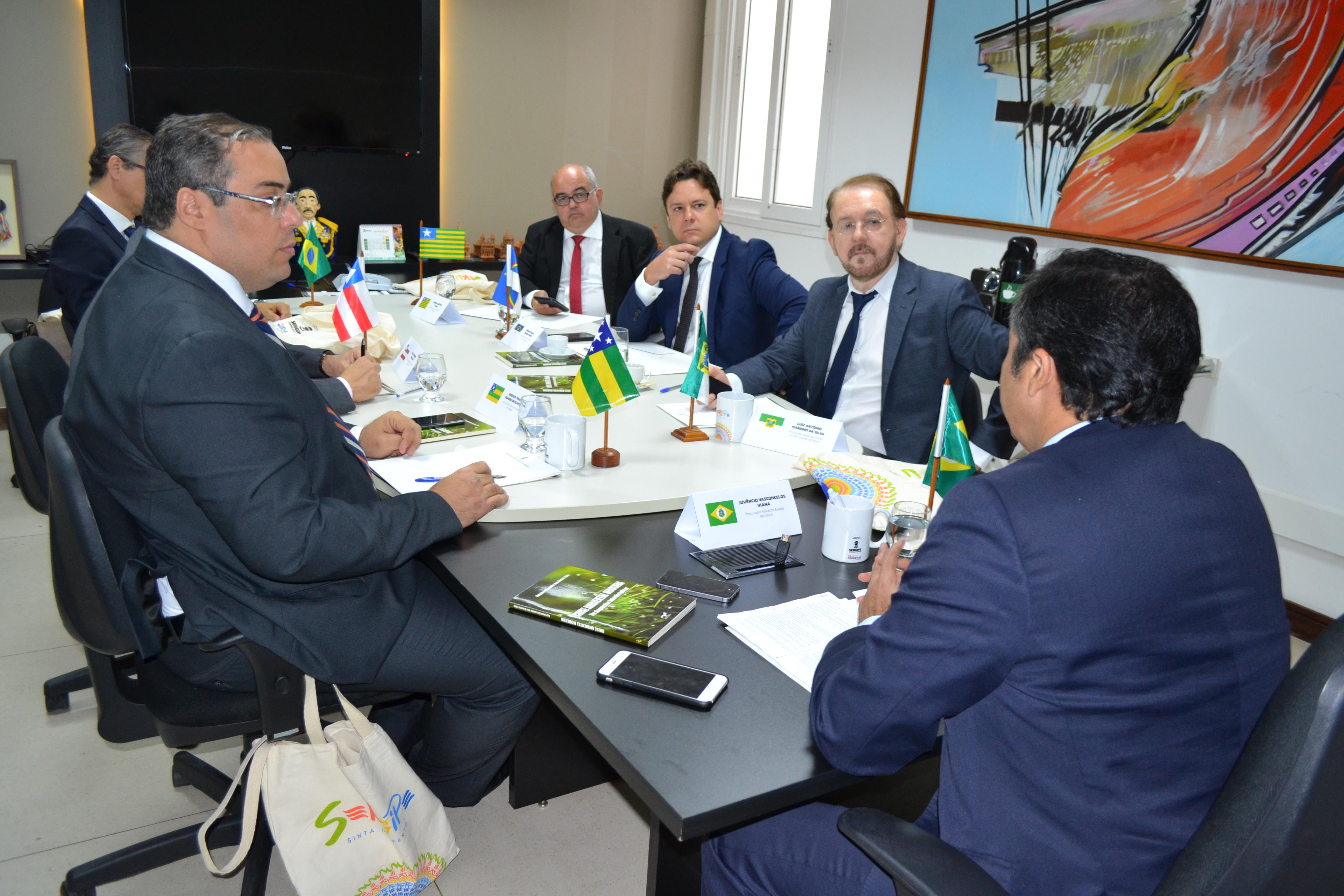 Fórum Permanente dos Procuradores-Gerais dos Estados do Nordeste se reúnem em Aracaju – SE